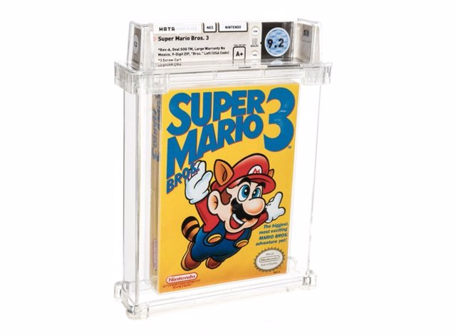 Variante sellada de  Super Mario Bros. 3 para NES, de 1990