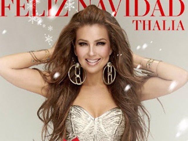 """Thalía lanza una innovadora versión del clásico """"Feliz Navidad"""""""