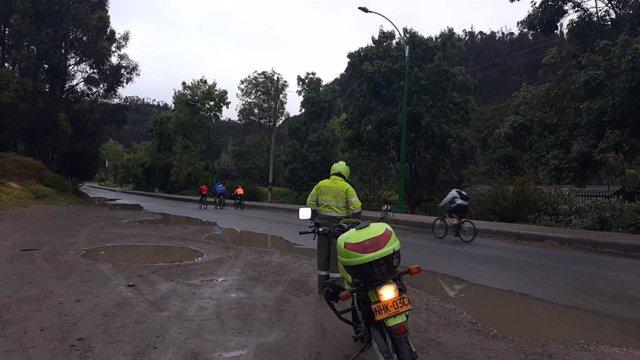 Policía de Tunja, en Boyacá, Colombia