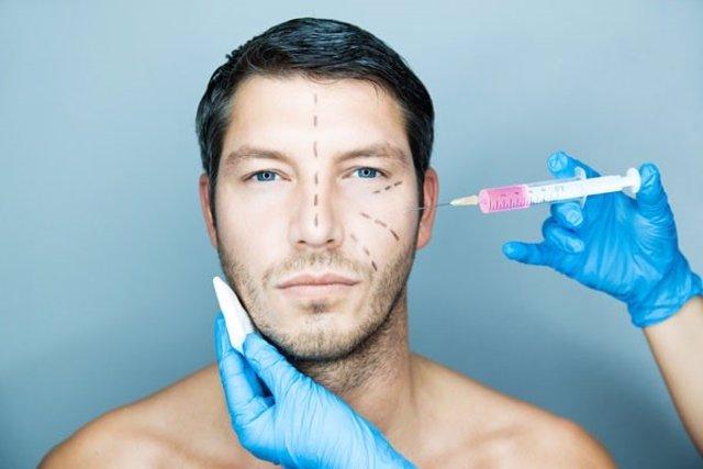Estética, hombre, cirugía