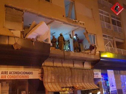 El juzgado manda a prisión al detenido por la explosión en una vivienda de Torrevieja