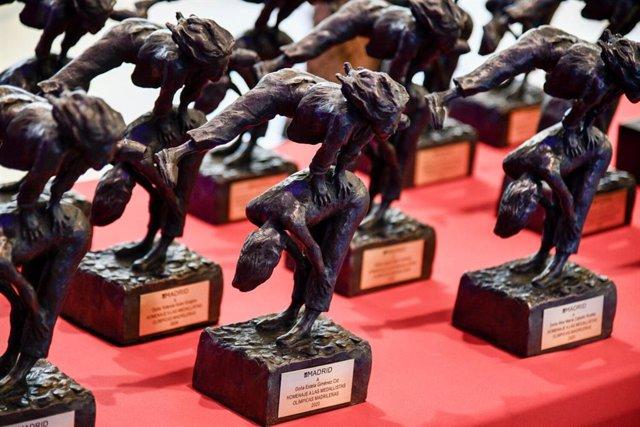 Homenaje a las medallistas olímpicas madrileñas.