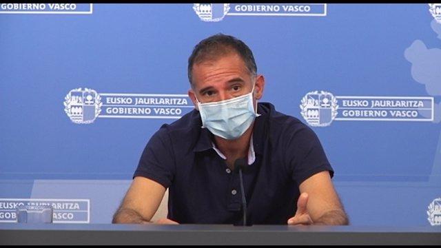 El coordinador del Programa de Vigilancia y Control de Osakidetza, Ignacio Garitano,
