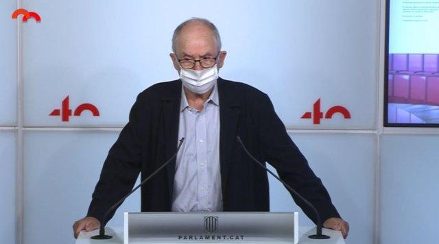 El síndic de Greuges, Rafael Ribó.