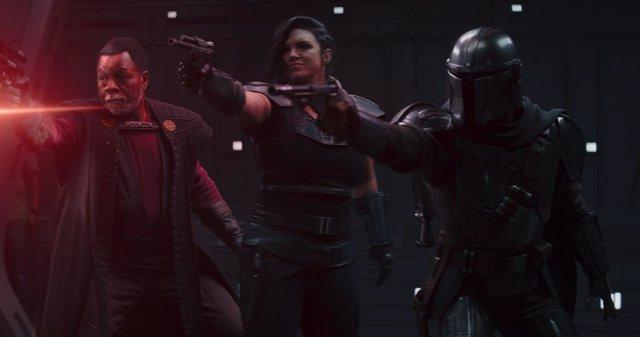 Imagen de la segunda temporada de The Mandalorian