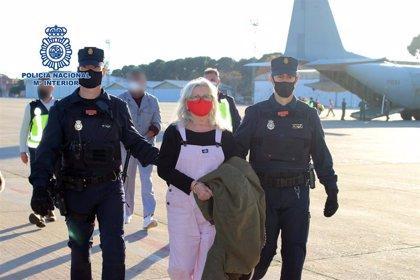 El juez envía a prisión a la etarra Natividad Jáuregui a la espera de juicio, tras ser entregada por Bélgica