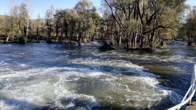 Tramo del río Ter