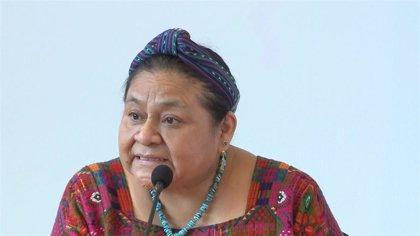 """Rigoberta Menchú denuncia la """"represión violenta"""" de las protestas y pide dimisiones"""
