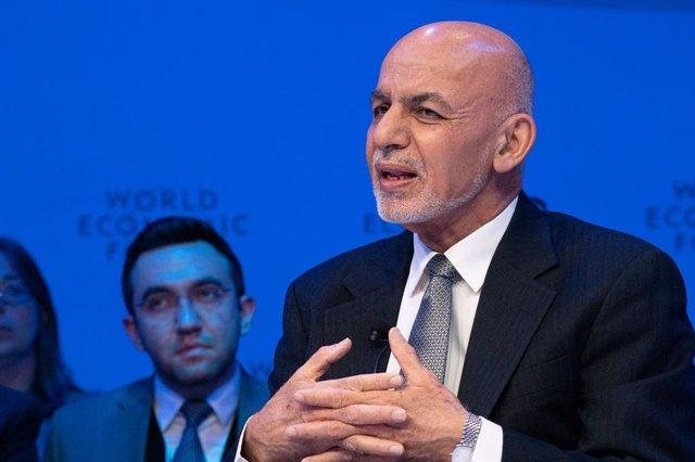 El presidente de Afganistán, Ashraf Ghani