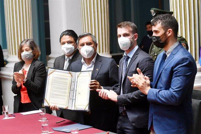 Acuerdo entre el Gobierno de Bolivia y el Grupo Interdisciplinario de Expertos Independientes (GIEI) de la Comisión Interamericana de Derechos Humanos (CIDH) para investigar la violencia postelectoral de 2019 en Bolivia