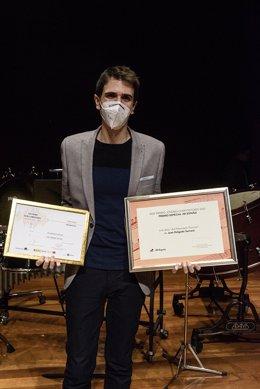 Juan Delgado Serrano, XXXI Premio Jóvenes Compositores 2020 por el íntimo impresionismo de 'Ad petendam pluviam'