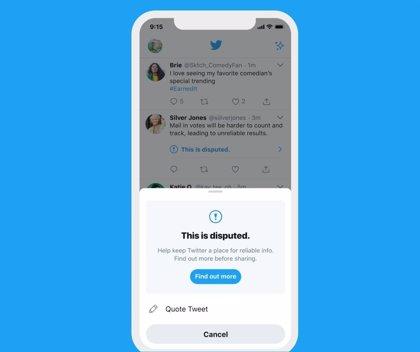 Twitter advertirá ante intentos de marcar Me Gusta en tuits controvertidos