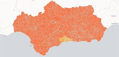 La Junta extiende el nivel de alerta 4 por Covid a toda Andalucía salvo 34 municipios de Málaga en nivel 3
