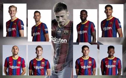 Lenglet busca pareja en el Barça