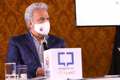 El presidente de Ecuador prevé iniciar en enero la vacunación contra la COVID-19