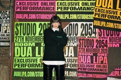 Dua Lipa abre las puertas del 'Studio 2054', su revolucionario show virtual