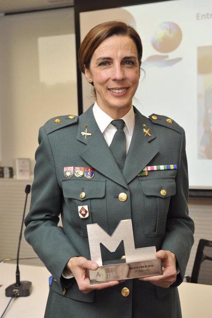 La teniente coronel Silvia Gil, primera mujer que dirigirá una Comandancia de la Guardia Civil al asumir la de Teruel