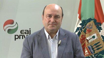 Ortuzar confirma que repetirá como presidente del PNV tras no proponerse ninguna otra candidatura