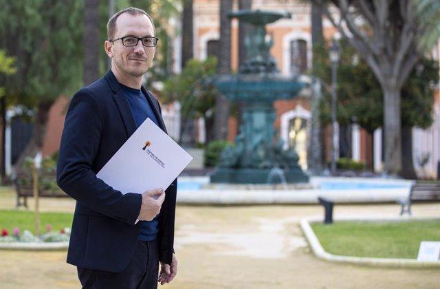 El director del Festival de Cine de Huelva, Manuel H.Martín.