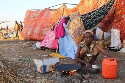 Más de 40.000 etíopes han cruzado ya hacia Sudán mientras la ONU teme ahora por los atrapados en Mekelle
