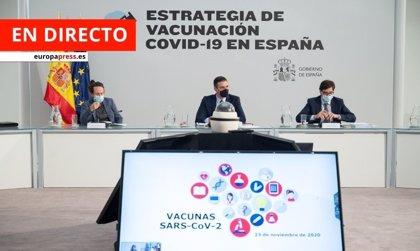 Vacunación contra el coronavirus | Directo: La vacuna será gratuita y voluntaria y habrá tres etapas de vacunación