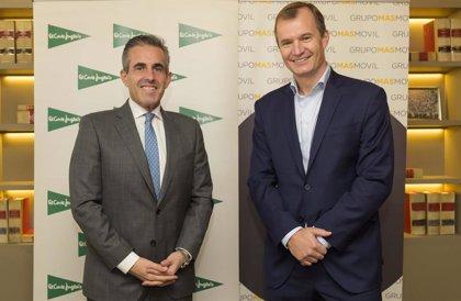 El Corte Inglés y Grupo MasMovil se alían para desarrollar nuevas iniciativas comerciales