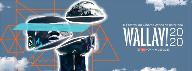 Cartell del III Festival Wallay! de cinema africà de Barcelona