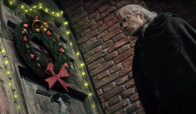 Geralt de Rivia se enfrenta a la Navidad en el tráiler de The Witcher