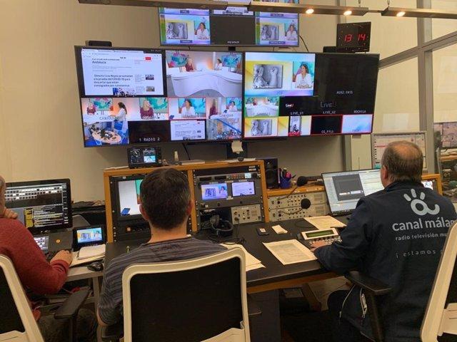 Profesionales de Canal Málaga RTV
