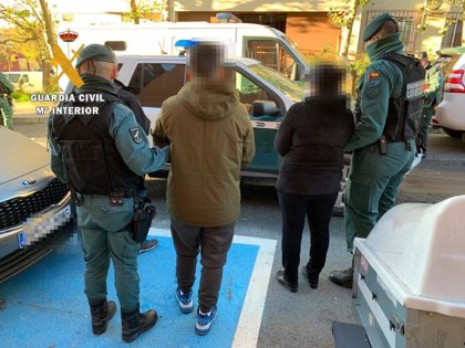 Detenidas 12 personas en el norte de Cáceres y desarticulada una organización dedicada al tráfico de drogas