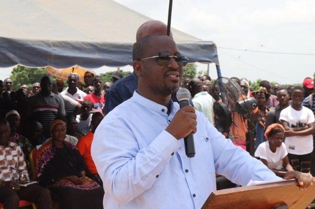 El líder opositor marfileño Guillaume Soro