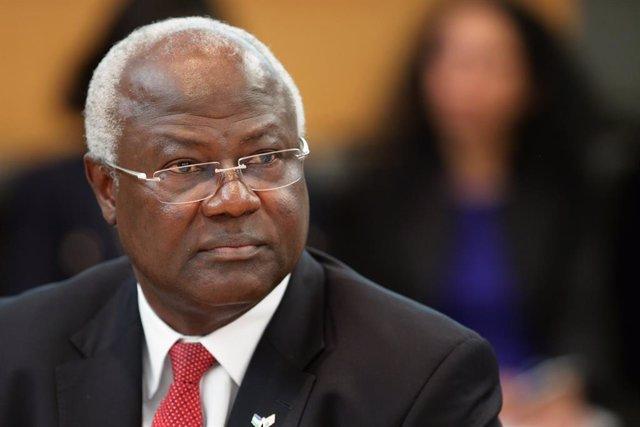 El expresidente de Sierra Leona Ernest Bai Koroma