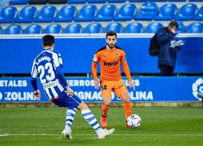 Gayà se perderá varios partidos del Valencia por una lesión muscular
