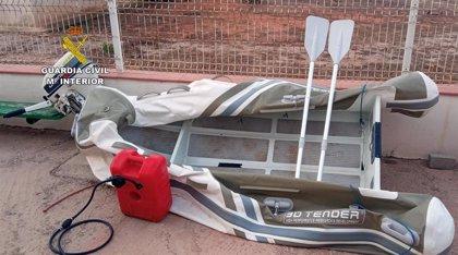 La Guardia Civil recupera en Cartagena una embarcación robada a un matrimonio suizo que viajaba en un velero