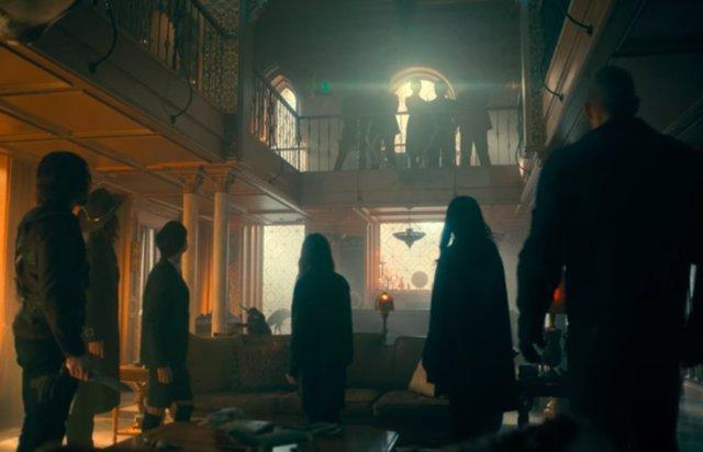 Imagen del final de la 2ª temporada de The Umbrella Academy en Netflix
