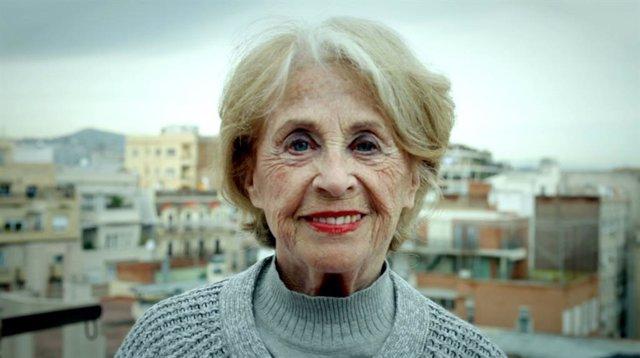 L'actriu Montserrat Carulla.