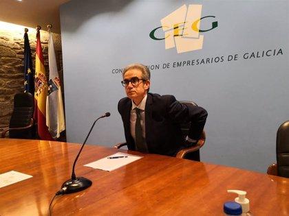 Díaz Barreiros, presidente de la CEG por aclamación, ofrece a Rey entrar en los órganos de gobierno