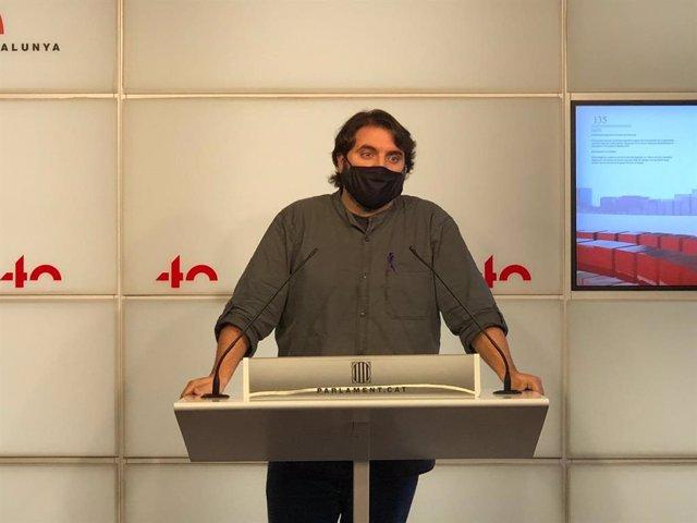 El diputat del PSC al Parlament Ferran Pedret