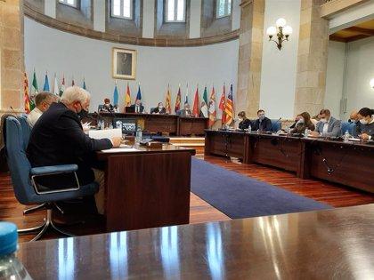 La Diputación de Lugo pide a la Xunta otro reparto de material sanitario y que financie las desinfecciones en colegios