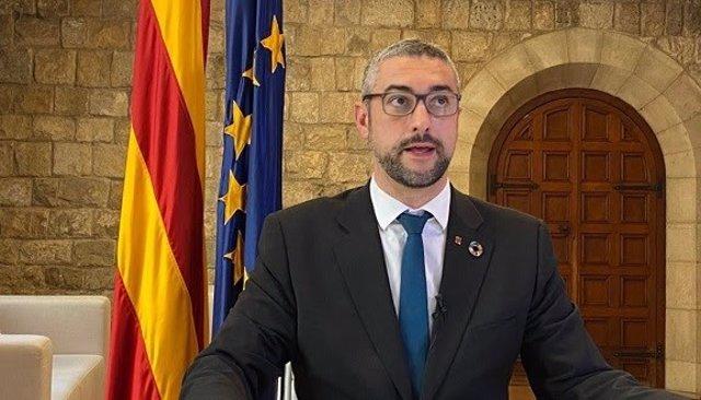 El conseller d'Acció Exterior de la Generalitat, Bernat Solé