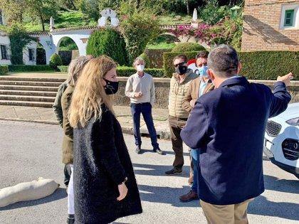 La Junta apuesta por el poblado de Los Hurones como motor socioeconómico de la Sierra de Cádiz a través de la ITI