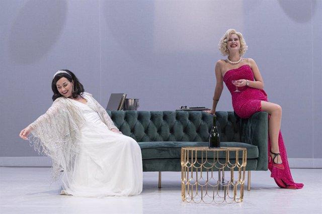 Obra de teatre 'Monroe-Lamarr'.