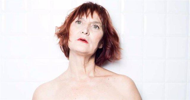 L'actriu Eva Lyberten a 'Una', de Raquel Cors.
