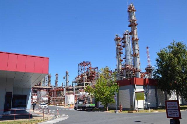 Planta química de Cepsa en Palos de la Frontera (Huelva).