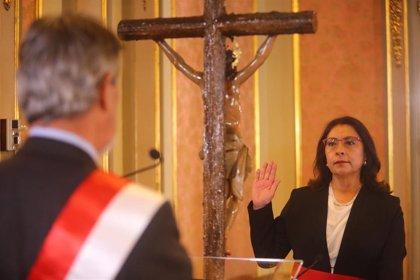 La sesión de investidura del Gabinete de Violeta Bermúdez se celebrará los días 3 y 4 de diciembre en Perú