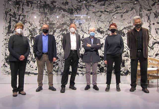 Presentació del llibre 'Vides catalanes que han fet història', amb els historiadors Isabel Rodà, Joaquim Albareda, Borja de Riquer, Margarida Casacuberta i Josep M. Salrach, juntament amb el president del Grup 62, Josep Ramoneda.