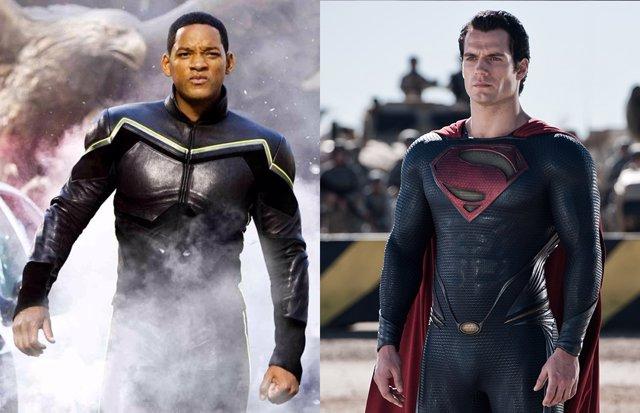 Así habría sido Will Smith como Superman