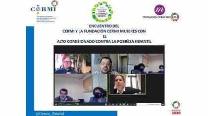 """El CERMI avisa al Alto Comisionado contra la Pobreza Infantil de que el IMV puede """"desdibujar"""" la ayuda por hijo a cargo"""