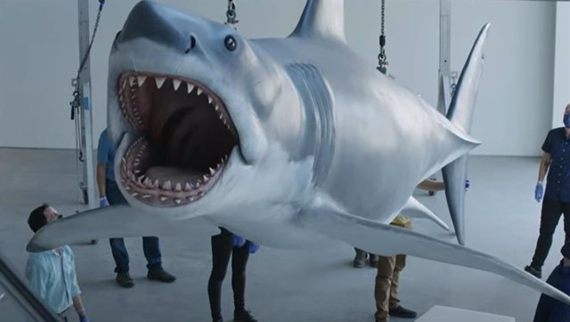Bruce, el tiburón de Spielberg, listo para causar terror en el Museo de la Academia