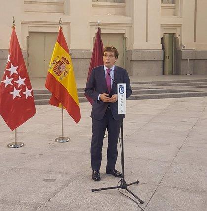 """Almeida espeta a Sánchez sobre el preacuerdo con ERC que los PGE """"no se pueden negociar a golpe de chantaje"""""""